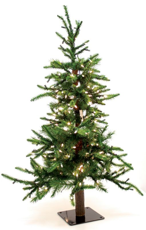 Good Tidings Alpine Prelit Christmas Tree 4 foot