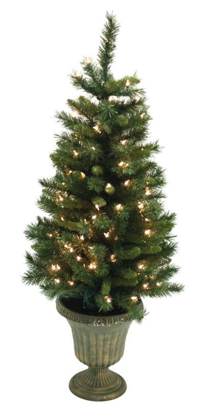 Good Tidings Mixed Pine Prelit Christmas Tree 4 ft