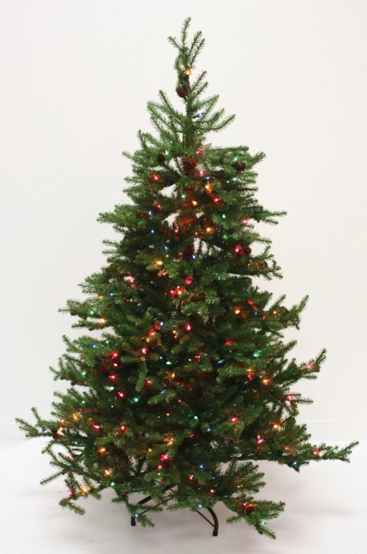Good Tidings Prince Edward Fir Prelit Tree 7.5 foo