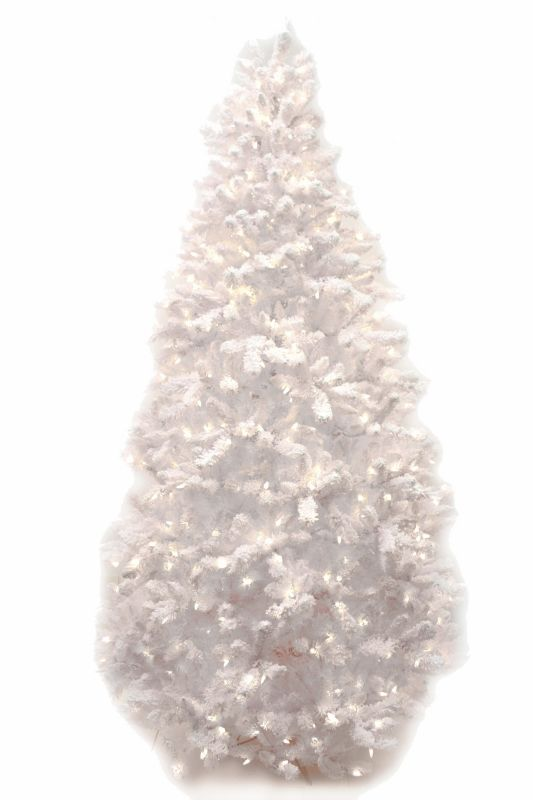 Good Tidings Snow Frost Prelit Christmas Tree 4.5