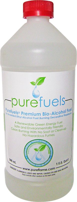 Purefuels Liquid Ethanol Fuel 6 Quart