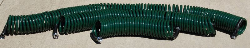 Drinking Water Safe Coil Hose 3/8In Diameter 50ft