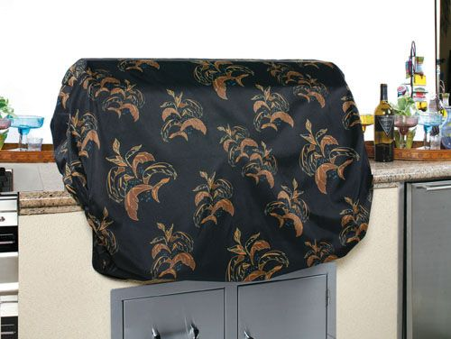 2 Dogs Designs Grill Top Cover 36 Inch Leaves