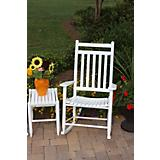 Medium Back Slat Seat Adult Rocker