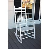 High Back Slat Seat Adult Rocker