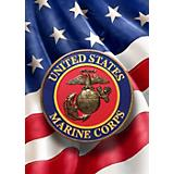 Red Carpet Studios Marines Flag