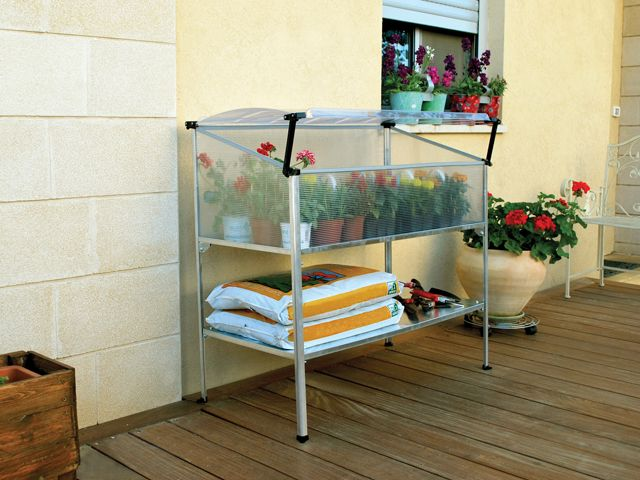 Poly-Tex Grow Deck Raised Gardening Bed