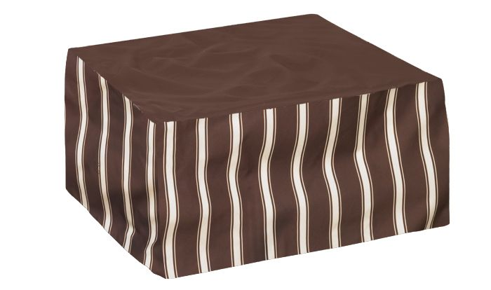 Ottoman Cover Extra Large Tan
