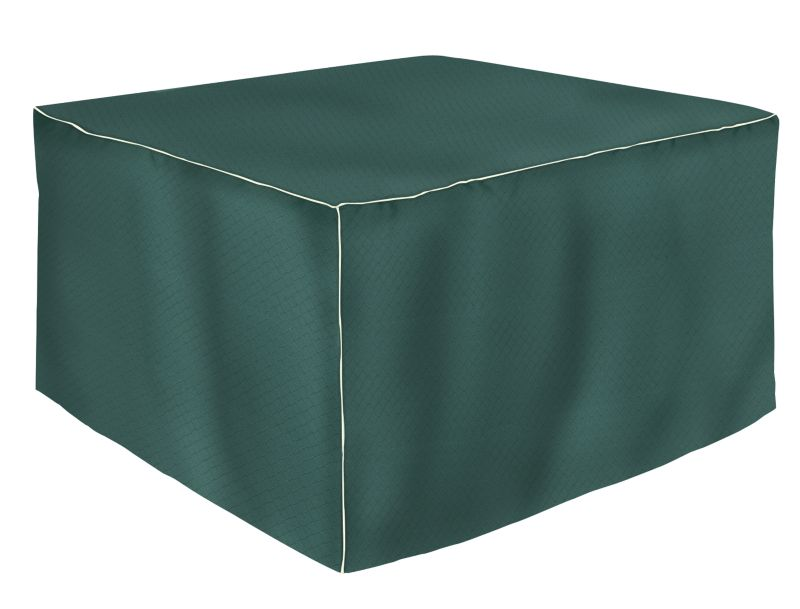 SQU Table Cover 20 Drop 48 Inch Green