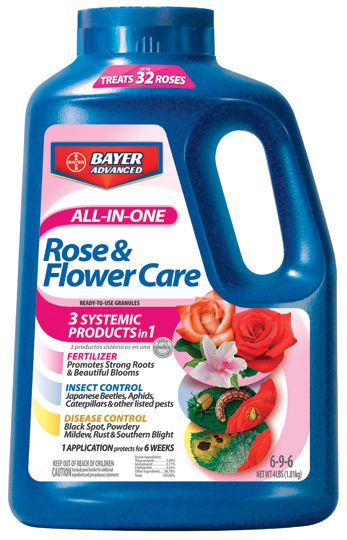 Bayer All In One Rose and Flower Care 4 lb