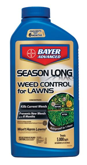 Bayer  Season Long Weed Control for Lawns 32oz Con
