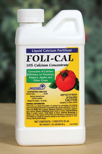 Monterey Foli Cal Liquid Calcium Fertilizer