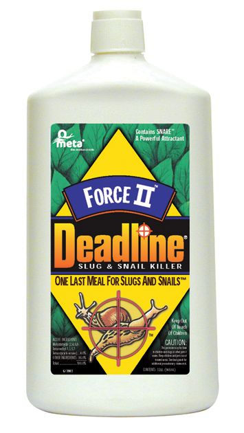 Deadline Force II Slug and Snail Killer Quart