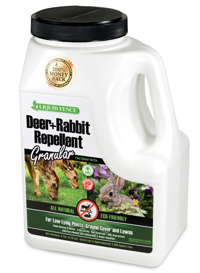 Liquid Fence Deer Repellent Granules 5 lb
