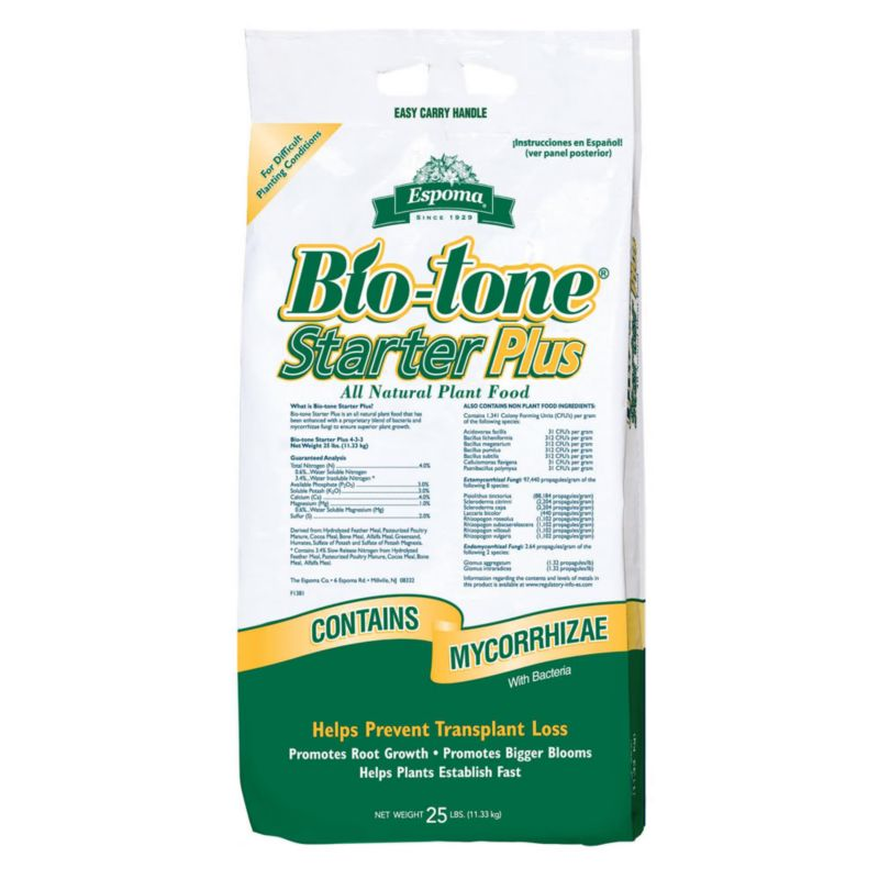 Espoma Biotone Starter All Natural Plant Food