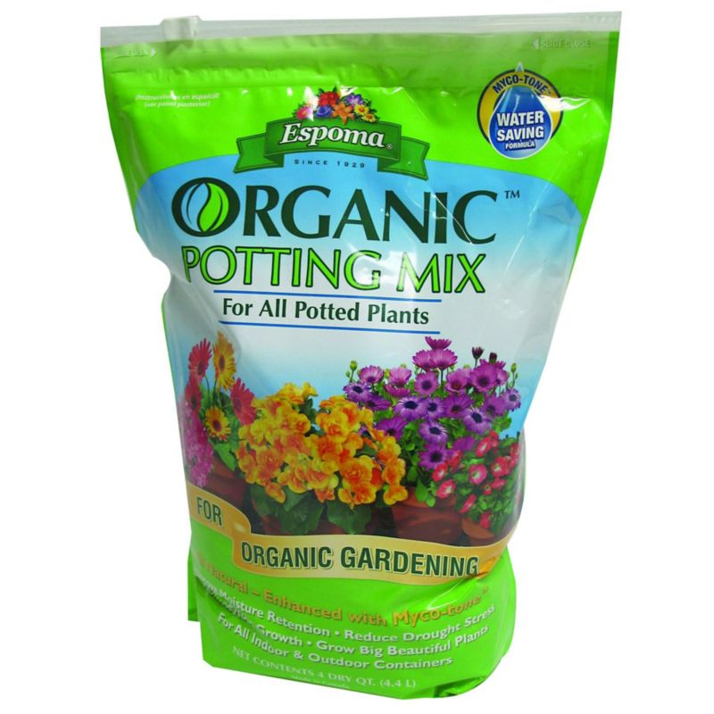 Espoma Organic Potting Soil Mix 4 qt