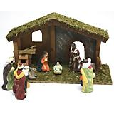 Table Piece Nativity 6inch Porcelain 11pc