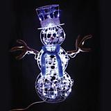 Outdoor Decor LED 40in Snowman Animated Sparkly