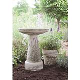 Burley Clay Hand Painted Lavender Pedestal