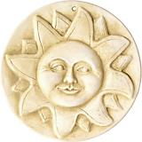 Burley Clay Sun Plaque