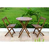 Merry Products Acacia Bistro Set