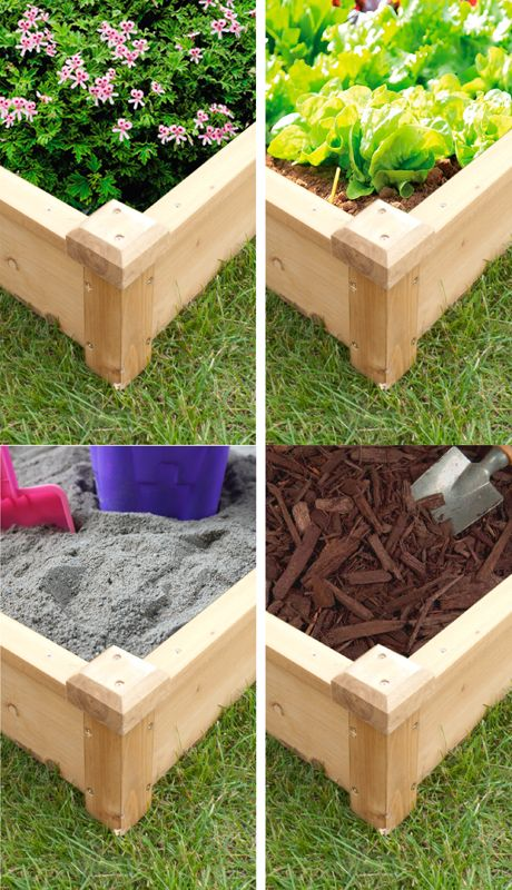 Merry Products Eco-friendly Raised Flower Bed