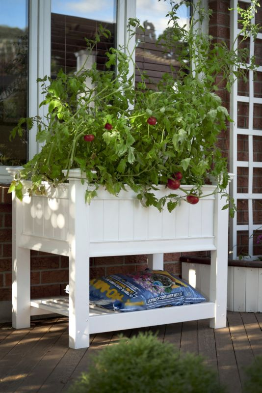 Cambridge Raised Planter With Extension