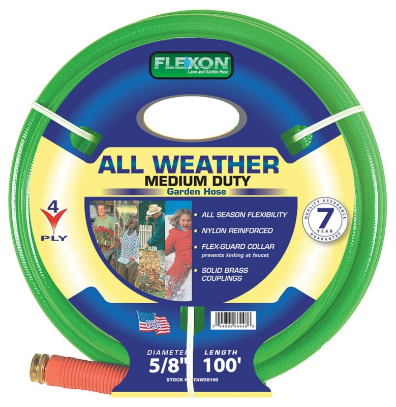 Flexon 5/8in x 100ft All Weather Garden Hose