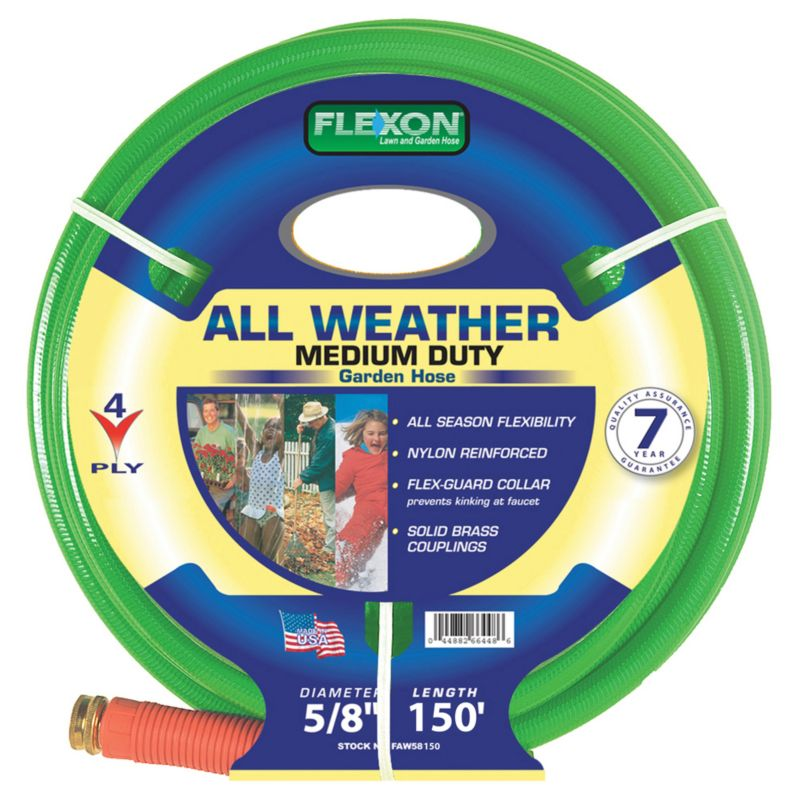 Flexon 5/8in x 150ft 4 Ply Reinforced Nylon Hose