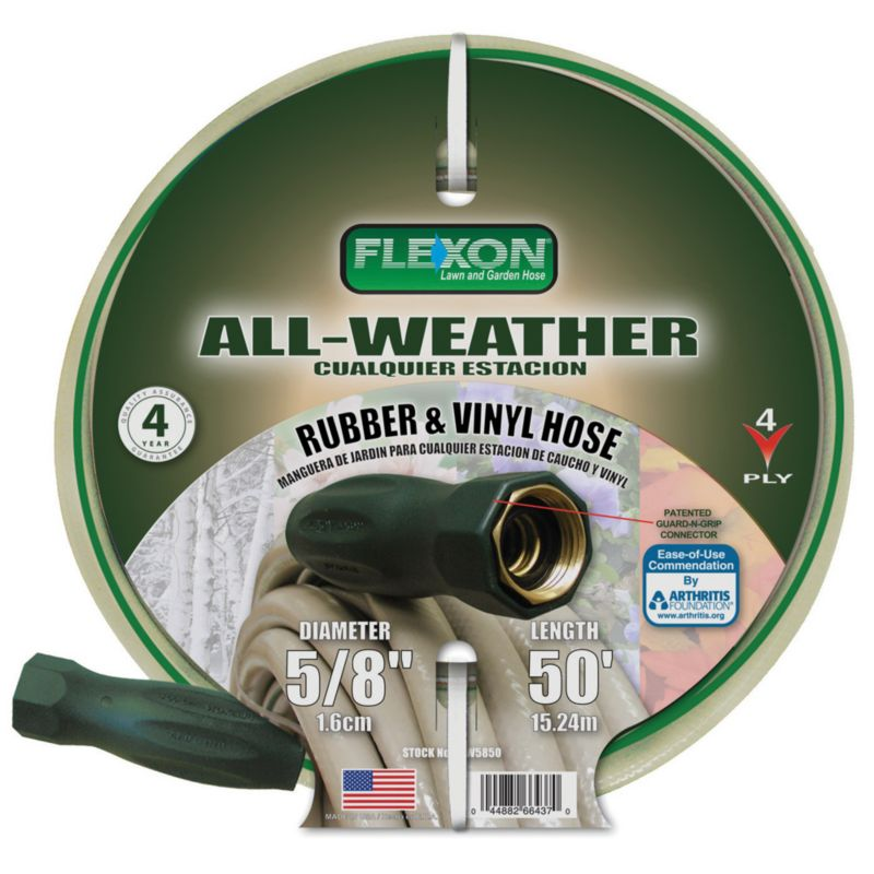 Flexon All Weather Hose 5/8in x 75ft