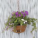 Laura Ashley Round Metal Basket