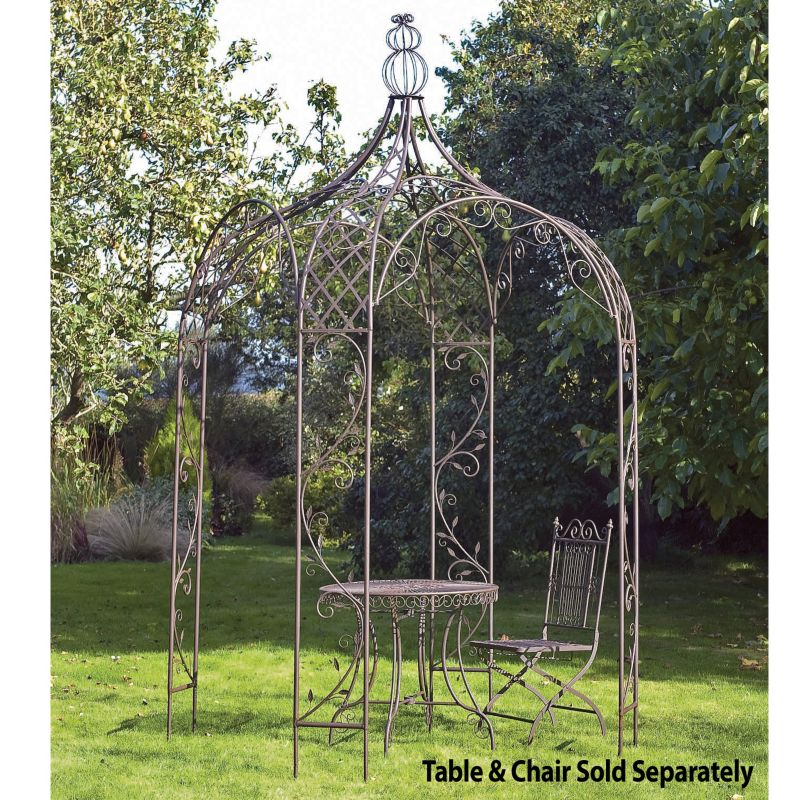 Laura Ashley Garden Gazebo  Chestnut