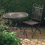 Laura Ashley Metal Circular Garden Table