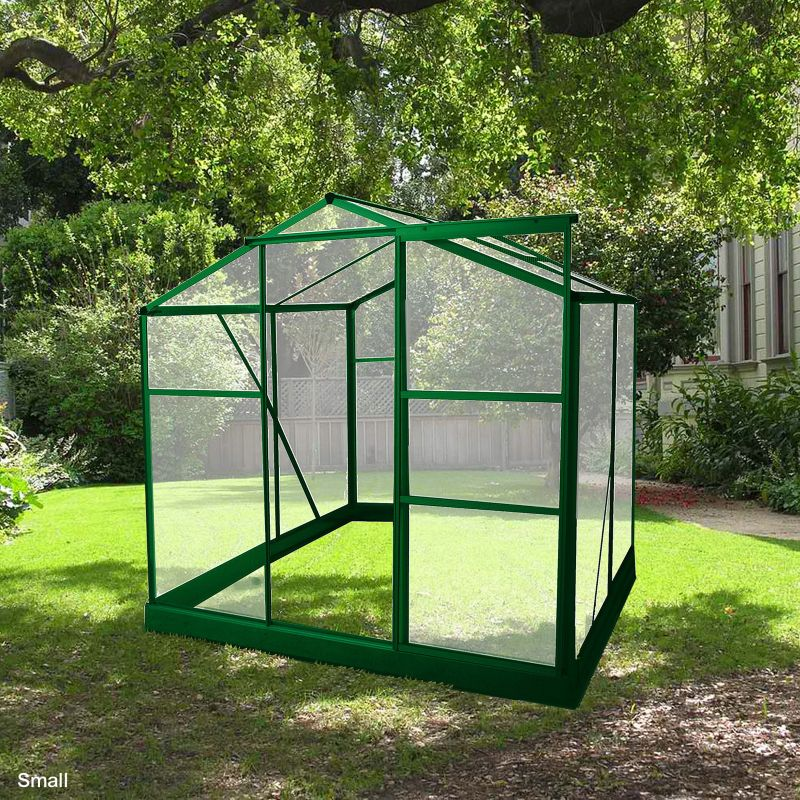 BIO-Star Greenhouse with Base Lean-To
