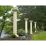 Tuscany Pergola Full Column Pillar