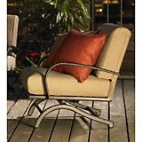 Deep Seating Aluminum Rocking Chair set of 2