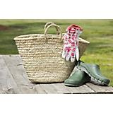 Traditional Woven Market Tote Bag