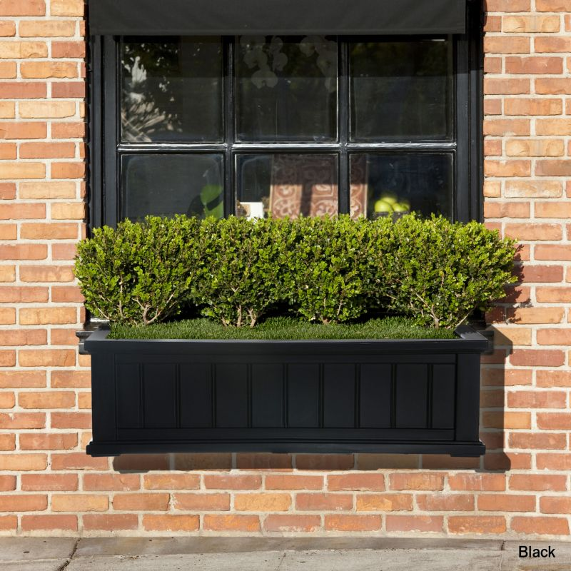 Cape Cod Window Box 4FT Black