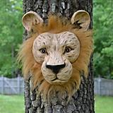 Lion Forest Face