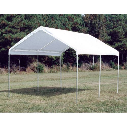 King Canopy Drawstring Cover 12x27 White