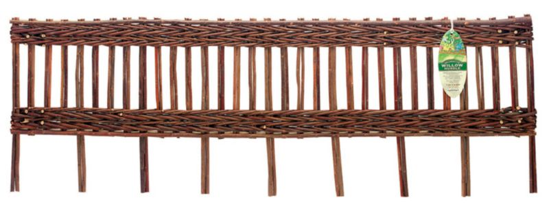 Classic Willow Edging Panel Pack of 6