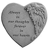 Kay Berry Always In Our Hearts Winged Heart