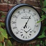 Luster Leaf Lincoln Thermometer with Clock