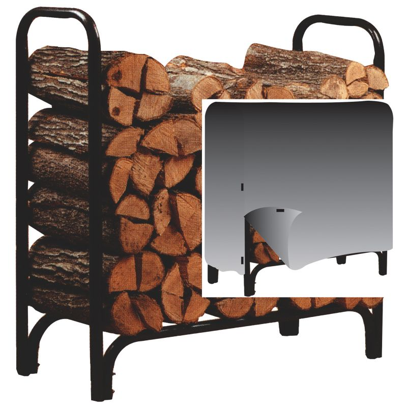 Panacea 4ft Deluxe Log Rack With Cover