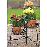 Panacea 21in 3 Tier Plant Stand Scroll and Ivy