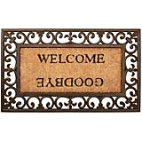 Esschert Design Welcome/Goodbye Doormat