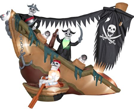 Airblown Skeleton Pirates