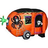 Gemmy Airblown Animated Halloween Camper