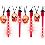 Gemmy Halloween Blood Drip with Skulls Light Set