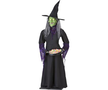 5 ft Airblown Life Size Witch